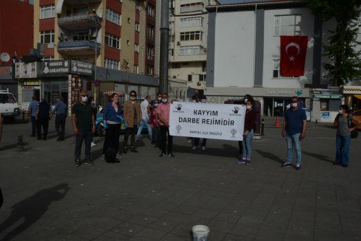 KARTAL'DA KAYYUM ATAMALARI PROTESTO EDİLDİ