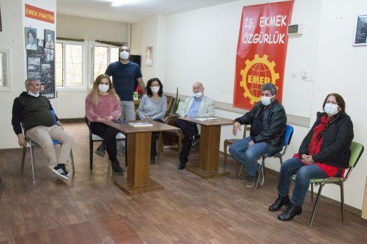 Sol Parti, Emek Partisi'ni ziyaret etti