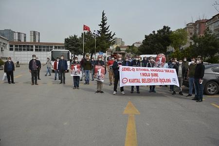 Kartal Belediyesi İşçileri 1 Mayıs Kutlaması