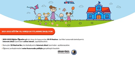 Kartal Belediyesi kreşlerinde 2021-2022 eğitim-öğretim yılı için ön kayıtlar başlıyor