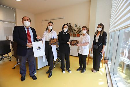 Dr. Şenol Karasu'dan Hemşireler Haftası Ziyareti