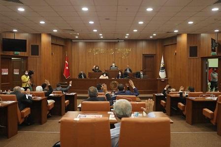 Kartal Belediye Meclisi Filistin'e saldırıya kınadı
