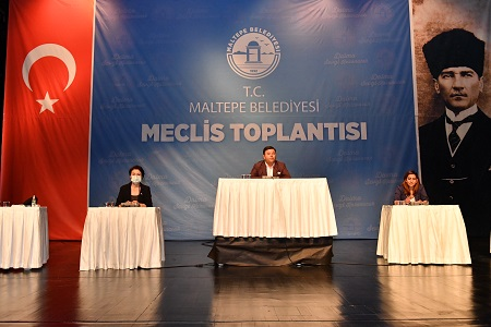 """Maltepe Belediye Meclisi'nden """"Filistin halkının yanındayız"""""""