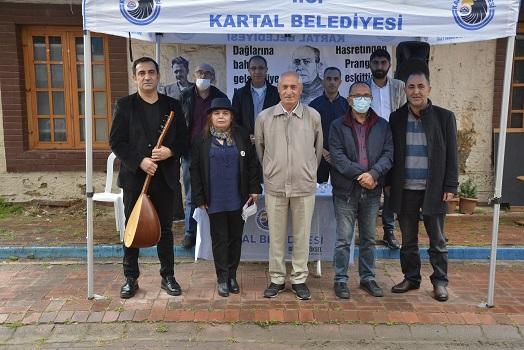 Kartal'da Ahmet Arif ve Nazım Hikmet Anıldı
