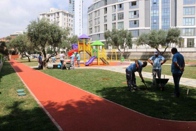 Cumhuriyet Mahallesi'ne Yeni Bir Park Daha Kazandırıldı