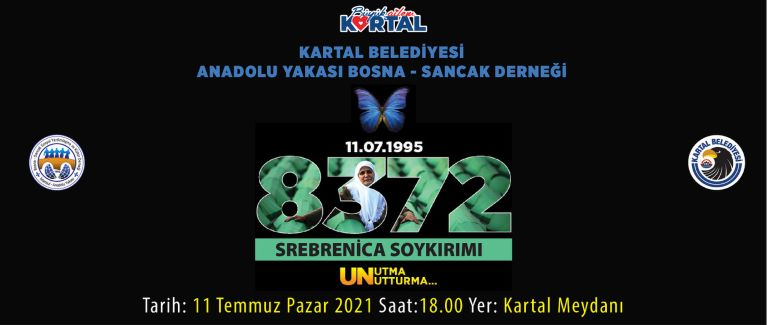 Kartal'da Srebrenitsa Anması