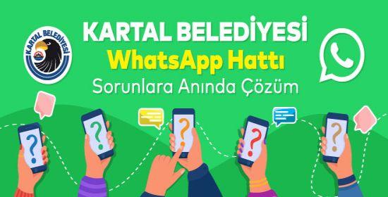 Kartal Belediyesi Whatsapp İhbar Hattı