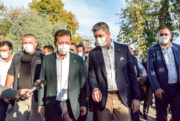 İmamoğlu,'Yüksel'in İşaretiyle Atatürk Parkı'nı Hızlıca Düzenledik'