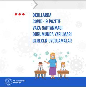 MEB yayımladı: Okullarda Kovid-19 vakası görüldüğünde neler yapılacak?