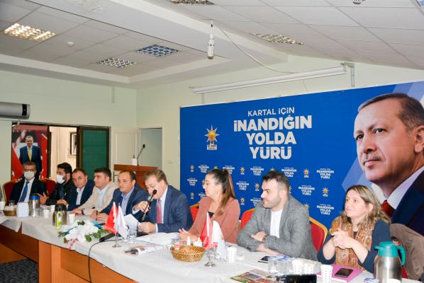 Ak Parti Kartal İlçe Teşkilatı Basınla Buluştu