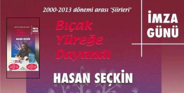 Kartallı sanatçı Hasan Seçkin'den yeni bir şiir kitabı…